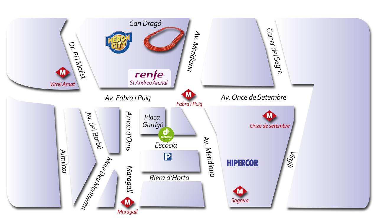 Dentisalut, Clínica dental en Nou Barris