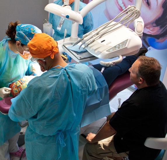 Cirugía oral en implantología