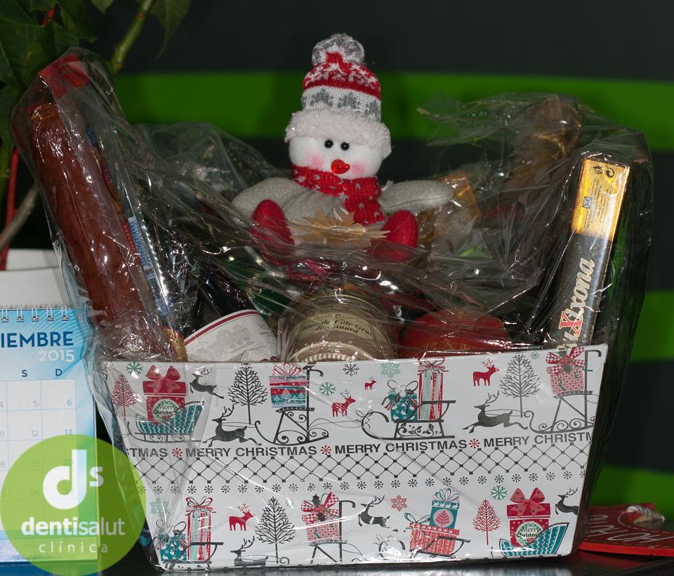 Sorteo cesta de Navidad