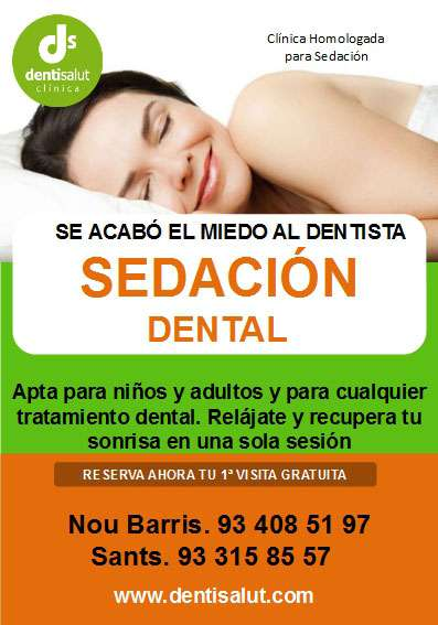 Sedación dental