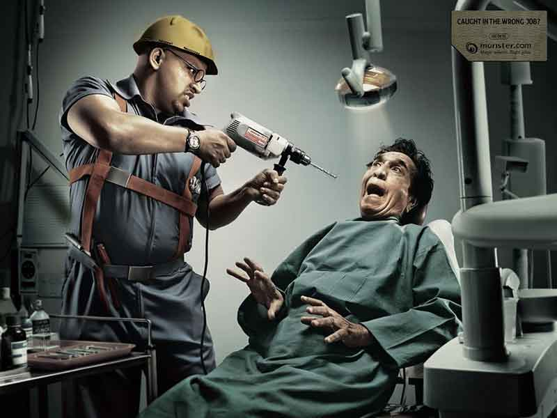 Terror al dentista