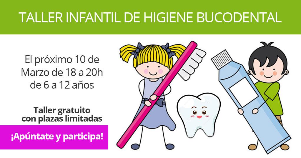 [Taller infantil] Higiene bucodental