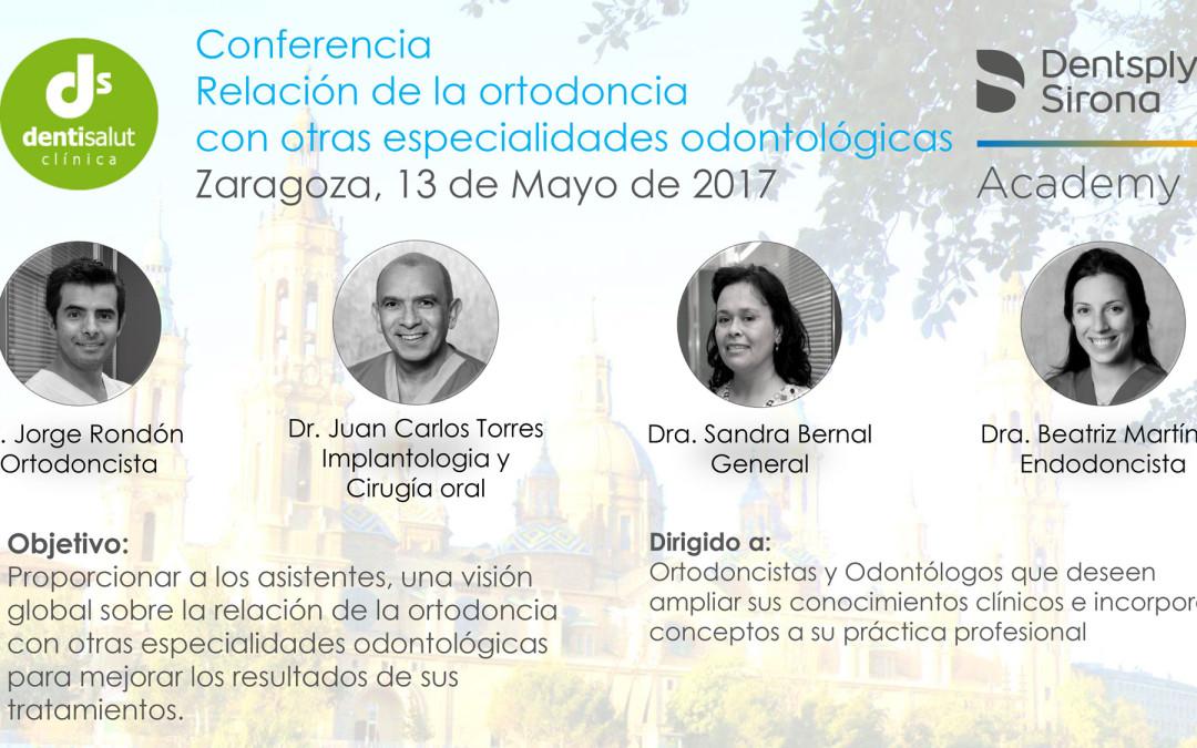 [Conferencia] Relación de la ortodoncia con otras especialidades odontológicas