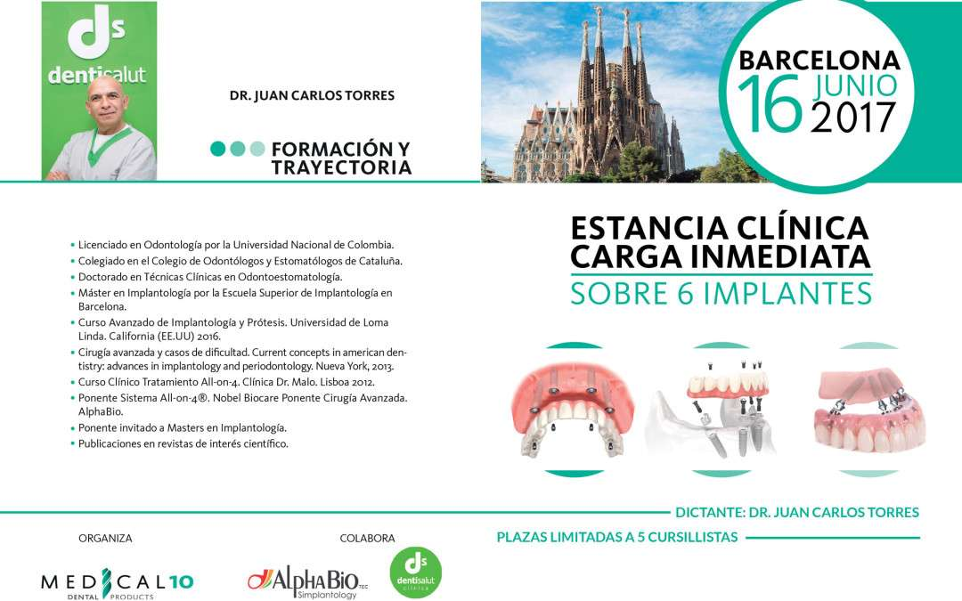 Estancia clínica: Técnica All-on-6 e Implantes NEO de Alpha BIO