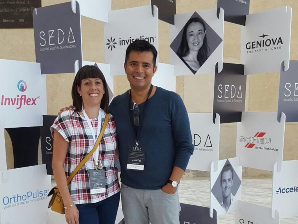 Tamara Buges y Alberto Rondón