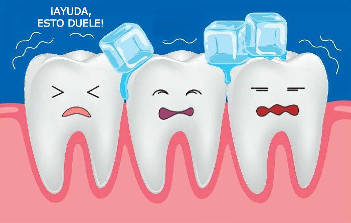 ¿Los dientes son siempre sensibles al frío?