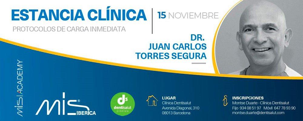 Estancia clínica Implantes Carga Inmediata Dr Juan Carlos Torres